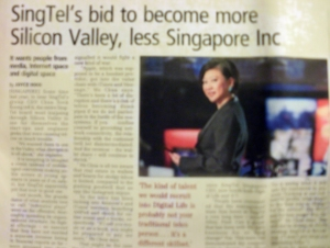 Singtel's bid to become more Silicon Valley, less Singapore Inc