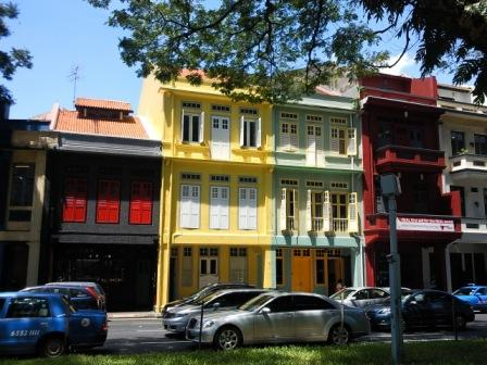 Old Buildings in Outram Park, Singapore