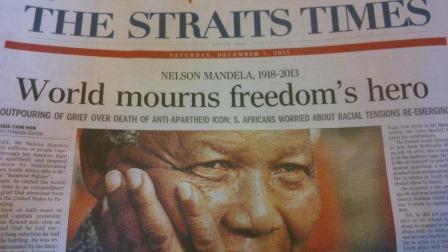 Mandela's death at 95